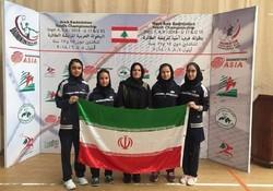 دختران بدمینتون باز آذربایجان شرقی قهرمان غرب آسیا شدند