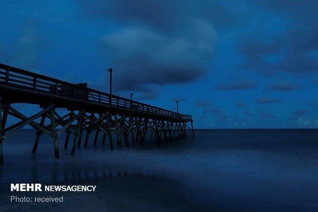 امریکی ریاستوں میں سمندری طوفان کے خطرے کے باعث ایمرجنسی نافذ