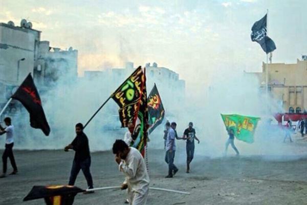 """المنامة تقمع المشاركين في مسيرات """"لبيك يا حسين"""""""