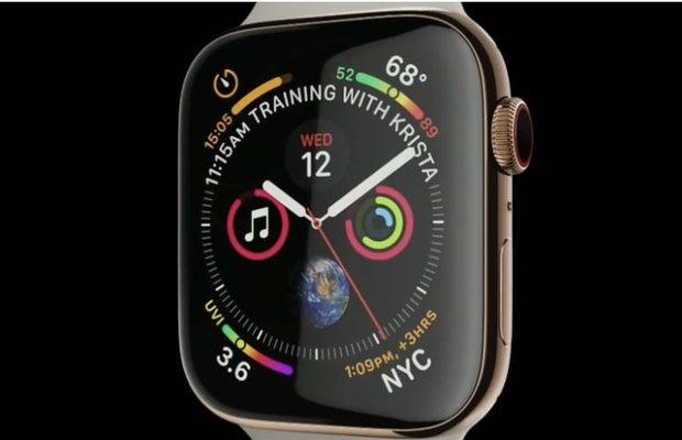ساعت جدید اپل رونمایی شد/ ساعتی که با اورژانس تماس می گیرد