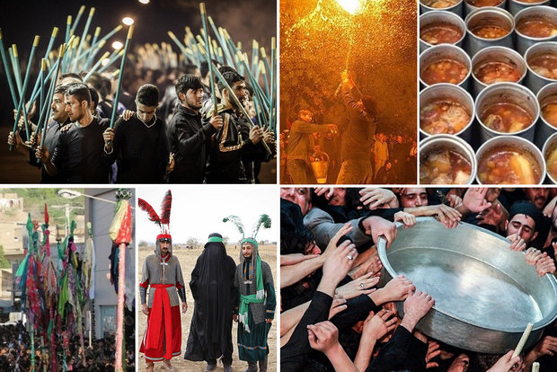 محرم در میان اقوام ایرانی/ از شاهحسینگویان تا علمبندی
