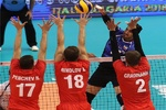 ايران تحقق فوزها الثاني وتهزم بلغاريا في كأس العالم لكرة الطائرة
