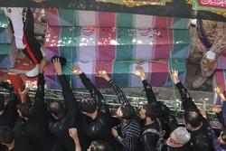 طهران تشيع رفات ١٣٥ شهيدا من أيام الدفاع المقدس /صور