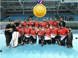 منتخب الهوكي الايراني يفوز باول ذهبية في بطولة اسيا