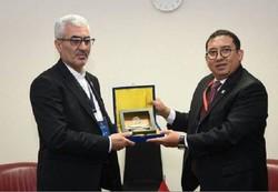 هیات پارلمانی ایران با نایب رئیس مجلس اندونزی دیدار کرد