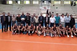سیمان شاهرود نائب قهرمان مسابقات بسکتبال قهرمانی کارگران کشور شد
