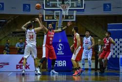 پیروزی تیم ملی بسکتبال مقابل فیلیپین