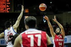 فوز ايران على الفلبين في تصفيات كأس العالم لكرة السلة / مصور