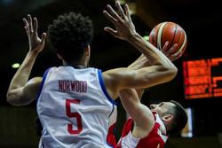 دیدار تیم های ملی بسکتبال ایران و فیلیپین از پنجره چهارم مسابقات انتخابی جام جهانی ٢٠١٩ چین