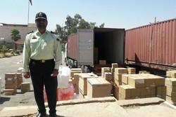 کشف  ۳۷۰۰ تخته پتوی قاچاق در ایلام
