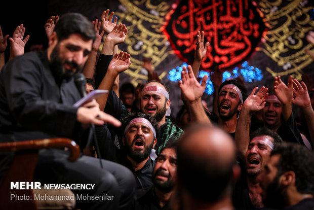 عزاداری ایام محرم در هیئت ریحانة الحسین (ع)