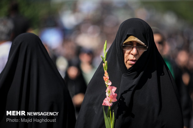 Funeral proceedings for 135 anonymous martyrs of Sacred Defense