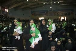 همایش شیرخوارگان حسینی در کرج برگزار شد