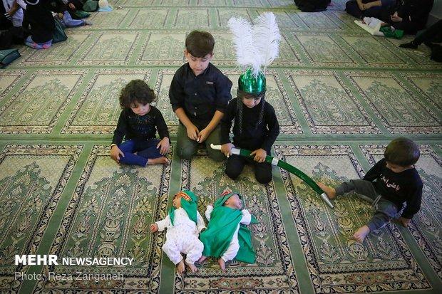 مراسم شیرخوارگان حسینی در همدان