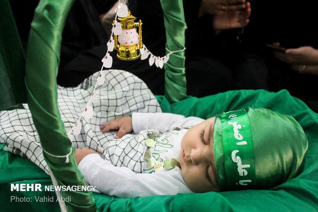 همایش شیرخوارگان حسینی در استان سمنان برگزار شد