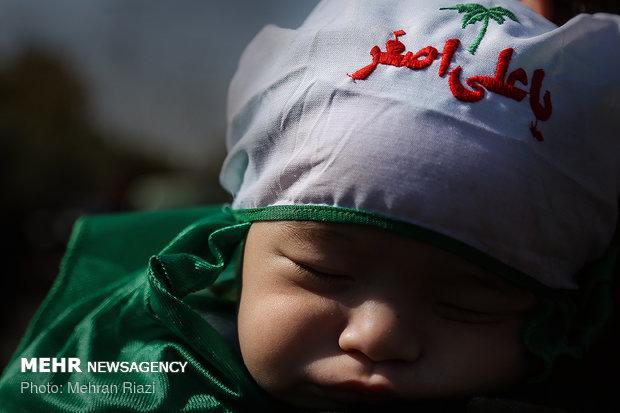 همایش شیرخوارگان حسینی در تهران-2