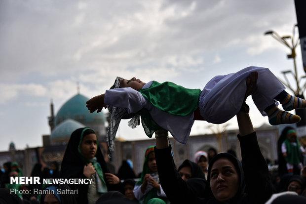 همایش شیرخوارگان حسینی در مشهد
