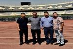 ممثلون للاتحاد الأسيوي لكرة القدم يتفقدون ملعب آزادي في طهران
