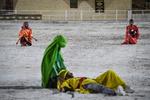مراسم محاكاة مشهد استشهاد علي الاكبر (ع) في شيراز / صور