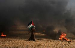 زخمی شدن ۳۲ فلسطینی در چهل و پنجمین راهپیمایی بازگشت