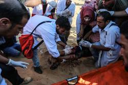 شهادت یک فلسطینی و زخمی شدن دهها نفر در کرانه باختری و غزه