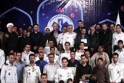 مراسم اختتامیه مسابقات قرآن اورژانسهای کل کشور برگزار شد