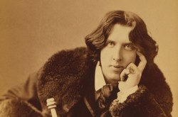 Irish poet and playwright Oscar Wilde