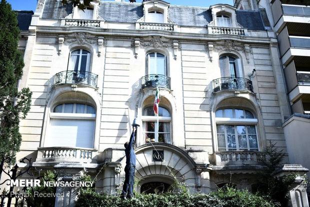 حمله به سفارت ایران در فرانسه