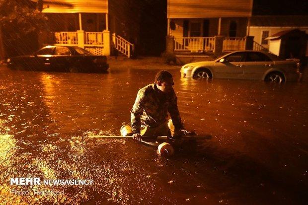 طوفان فلورانس در آمریکا