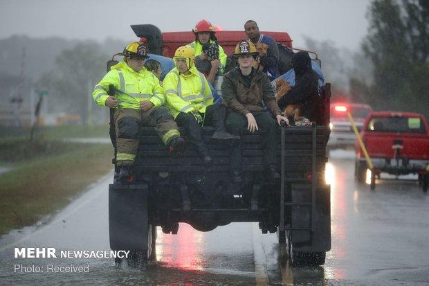 توفان فلورانس در آمریکا