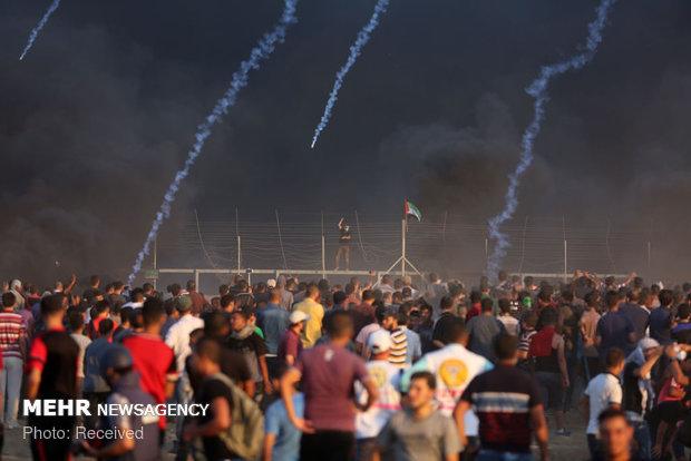 سبعة شهداء واصابة 192 آخرين في مجزرة اسرائيلية مروعة شرق قطاع غزة