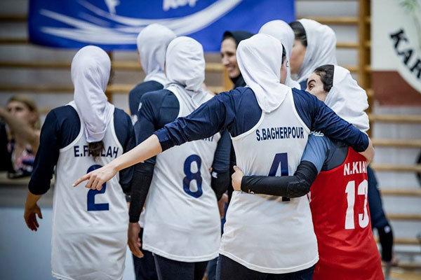 İran Kadın Voleybol Milli Takımı Kazakistan'ı yendi