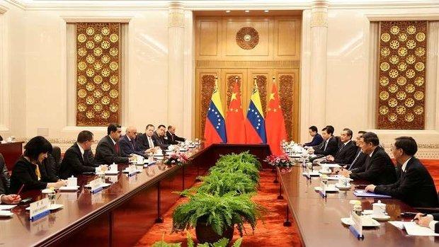 الرئيس الفنزويلي يوقع 28 اتفاقية خلال زيارته للصين