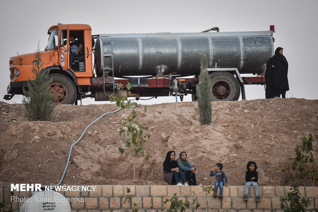 محاكاة مشهد استشهاد علي الاكبر (ع) في شيراز