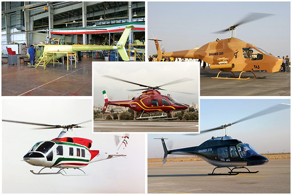 Two new Iranian helicopters awaiting intl. certificates