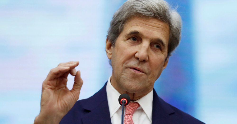 Trump, Pompeo accuse Kerry of 'undermining' U.S. policy on Iran