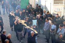 İran'da geleneksel yas töreni