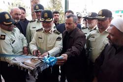مرکز تجمیع خطوط ۱۱۰ فرماندهی انتظامی شرق استان تهران افتتاح شد