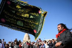 """مراسم مذهبية في مرقد """"أويس قرني"""" لأتباع الطريقة القادرية/صور"""