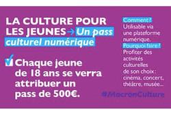 آغاز توزیع کارت فرهنگ به اعتبار ۵۰۰ یورو در فرانسه