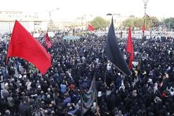 لقاء العاشورائيين الأكبر في همدان غرب ايران /صور