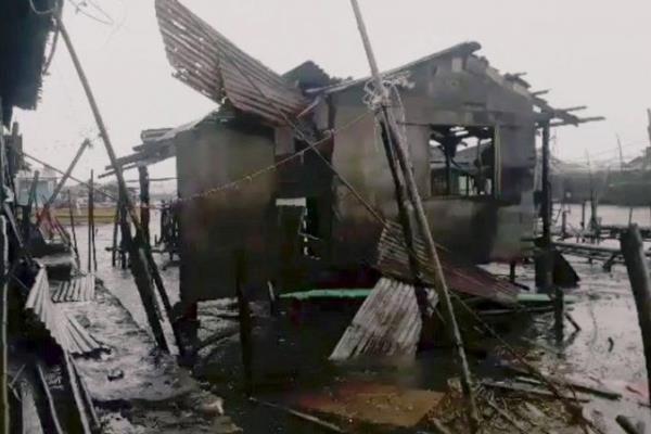 طوفان «مانگخوت» در فیلیپین ۲۵ کشته برجای گذاشت