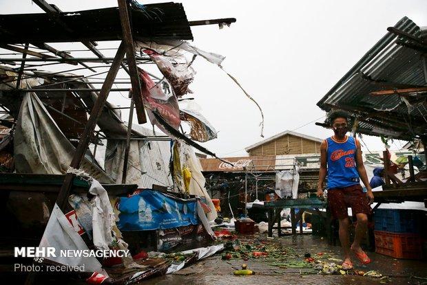 فلپائن، سمندری طوفان کے نتیجے میں 28 افراد ہلاک