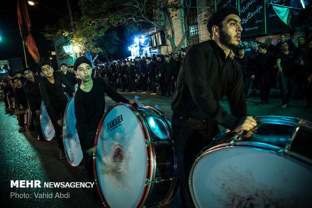 "مراسم ""شاه حسين "" في مدينة تبريز"