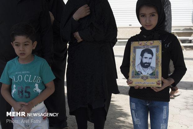 مراسم تشییع پاسدار شهید مدافع حرم اصغر الیاسی