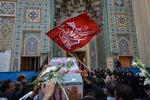 پیکر شهید تازه تفحص شده دوران دفاع مقدس در گلستان تشییع میشود