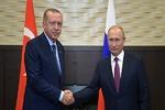 پوتین و اردوغان درباره سوریه و قره باغ گفتگو کردند