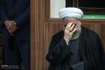 صدر حسن روحانی کی موجودگي میں مجلس عزا منعقد