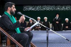 اولین شب مراسم عزاداری حضرت اباعبدالله (ع) در حسینیه امام خمینی