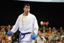 Ganjzadeh gains gold at Karate1-Premier League